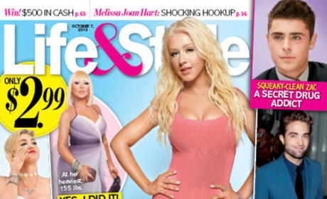 Christina Aguilera Flaunts Thin Figure, Dishes Diet Secrets