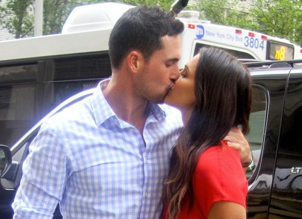 Josh and Andi Kiss