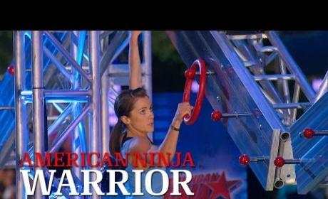 Kacy Catanzaro Dominates American Ninja Warrior Course