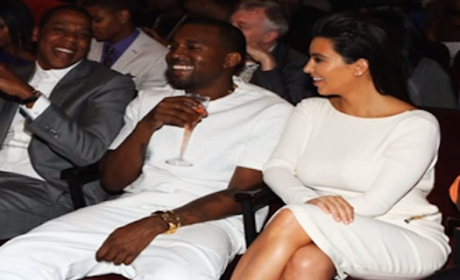 Kanye West Raps About Kim Kardashian Sex, Blowing Load in Fiancee's Mouth