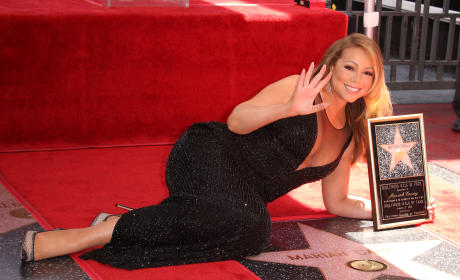 Mariah Carey and Her Star