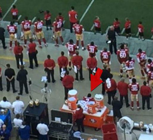 Colin Kaepernick Sits During National Anthem, Defends ...