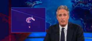 Jon Stewart Bashes NBC for Opening Ceremony Cutaway