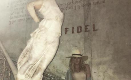 Khloe Kardashian in Cuba