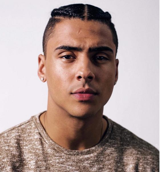 Kourtney Kardashian: DATING Diddys Son Quincy Brown - Chris Brown Hairstyle