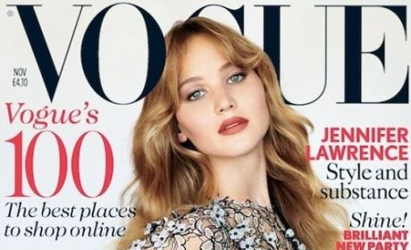 Jennifer Lawrence Vogue UK Cover