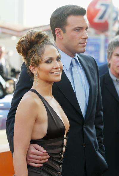 Jennifer Lopez, Ben Affleck Throwback Photo