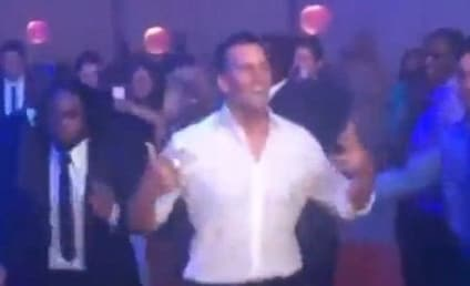 Tom Brady Dances (Horribly) at Super Bowl Ring Party