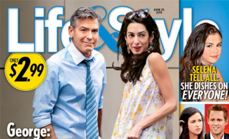 Amal Clooney: Pregnant! And Really Underweight!