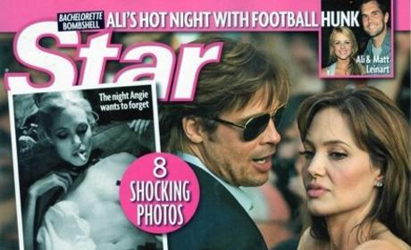 Angelina Jolie Drug Photos: Will They Drive Brad Pitt Away?!