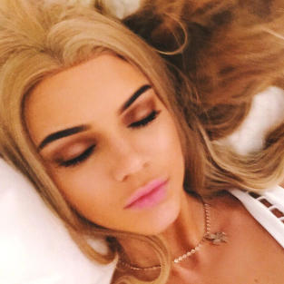 Kendall Jenner Goes Blonde