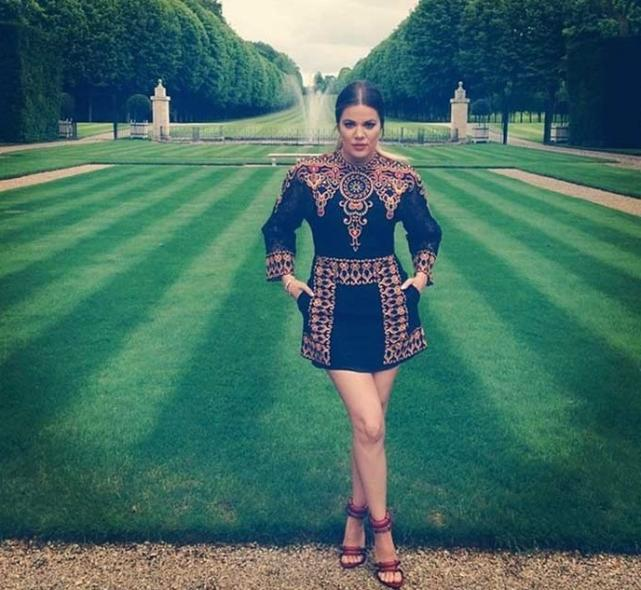 Khloe Kardashian at a Palace