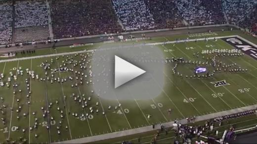 Kansas state university apologizes for licentious halftime show