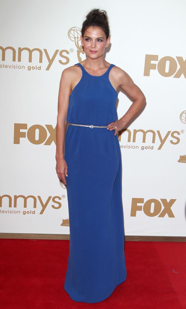 Katie Holmes Emmy Dress