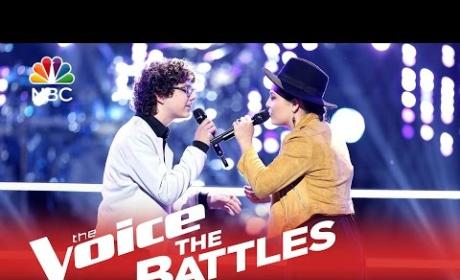 Braiden Sunshine vs. Lyndsey Elm (The Voice Battle Round)