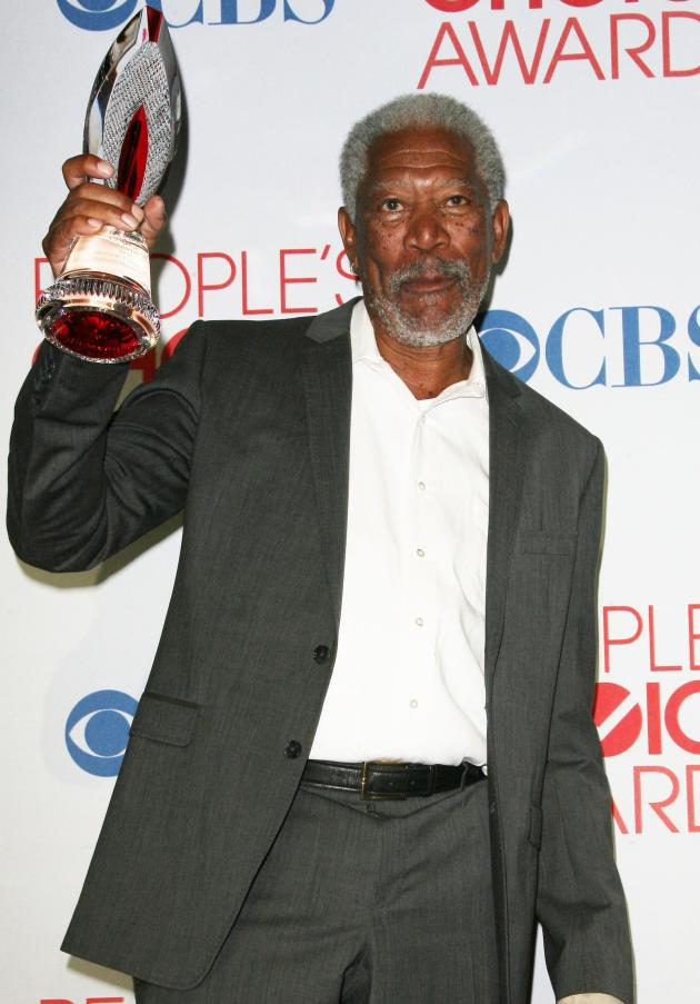 Morgan Freeman Wins!