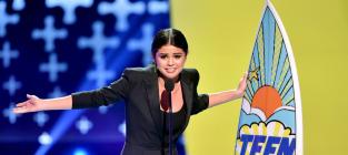 Selena Gomez Teen Choice Awards Speech