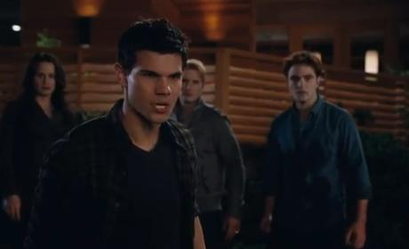 Taylor Lautner on Breaking Dawn: Time to Man Up!