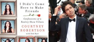 Courtney Robertson Talks Adrian Grenier