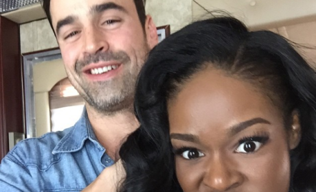 Azealia Banks and Jesse Bradford