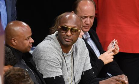 Lamar Odom Attends Lakers Game: How Did He Look?