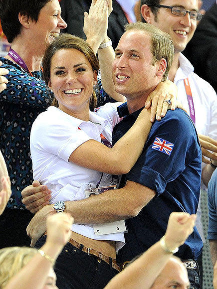 Kate Middleton, Prince William Olympics Photo
