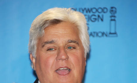 Jay Leno at the Golden Globes