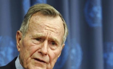George H.W. Bush Hospitalized With Bronchitis