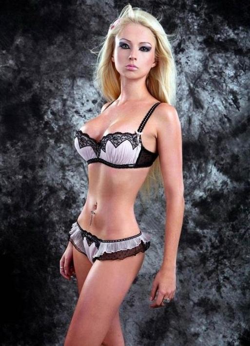 Human Barbie Bikini Pic