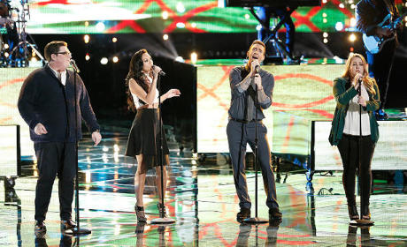 The Voice Season 9 Singers