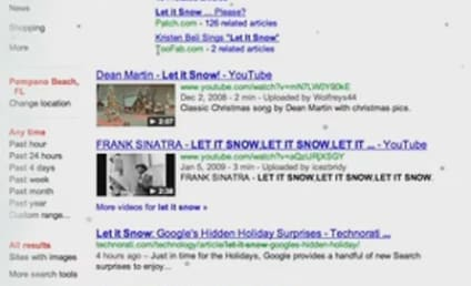 Let it Snow: Google That and it Actually Does!