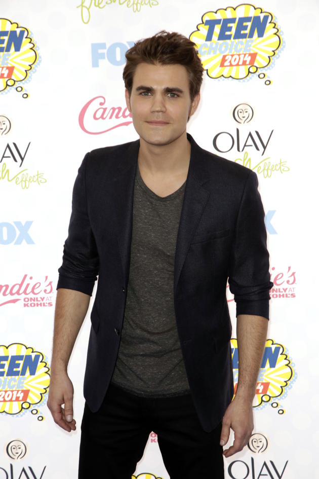 Paul Wesley at the Teen Choice Awards