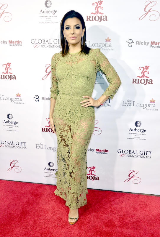 Eva longoria global gift foundation dinner