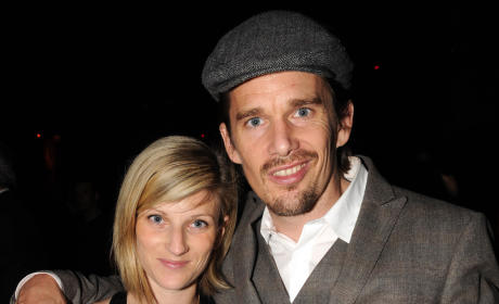 Ryan Shawhughes and Ethan Hawke: Expecting!