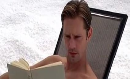 Alexander Skarsgard: Full Frontal on True Blood Season 6 Finale!