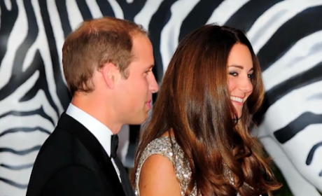 Kate Middleton Stuns in First Post-Baby Red Carpet Appearance