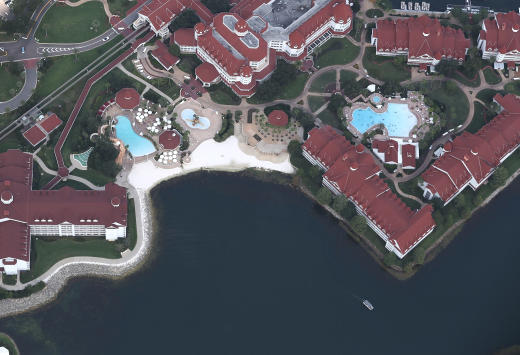 Aerial Shot of Disney's Grand Floridian Resort