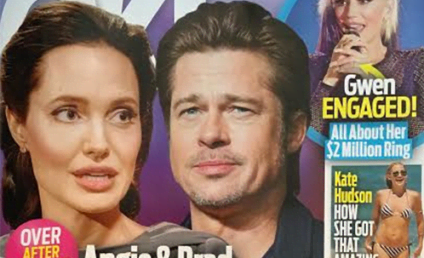 Angelina Jolie: Divorcing Brad Pitt For Cheating?!