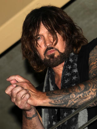 Tattooed Billy Ray Cyrus