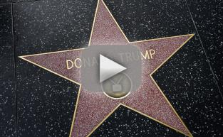 Donald Trump Walk of Fame Star Gets DESTROYED!