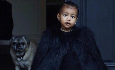 Kim Kardashian: So Thankful for North West!
