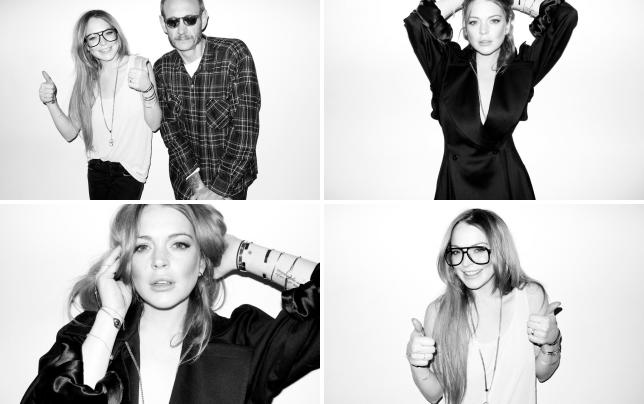 Lindsay lohan and terry richardson photo