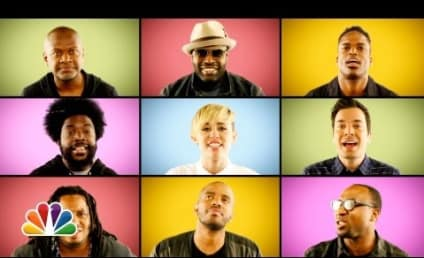 "Miley Cyrus and The Roots Team Up, Go A cappella for ""We Can't Stop"""