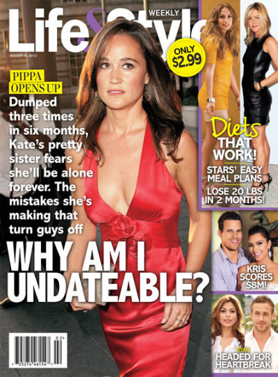 Pippa Middleton Tabloid Cover