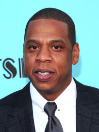 Jay Z at Great Gatsby Premiere