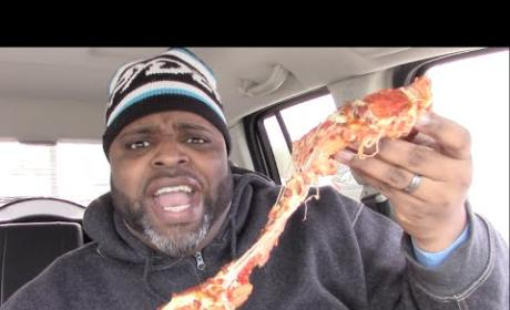 Daym Drops: Little Caesars Bacon-Wrapped Pizza Review