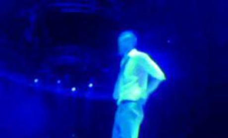 """Justin Timberlake Sings """"Rehab"""" ... to Britney?"""