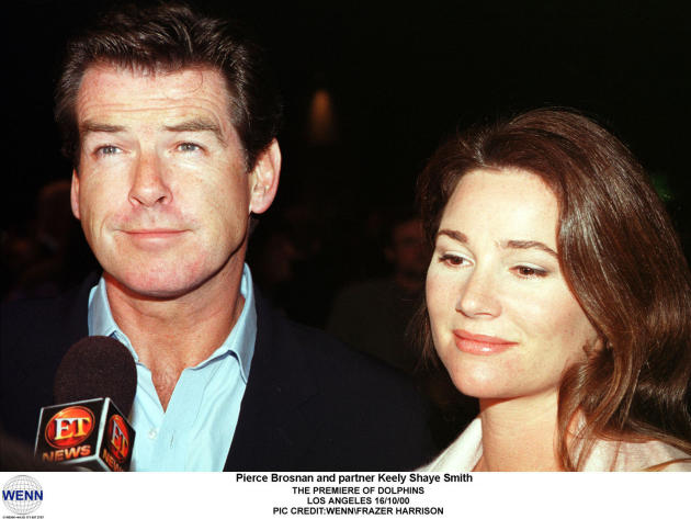 Keely Shaye Smith, Pierce Brosnon