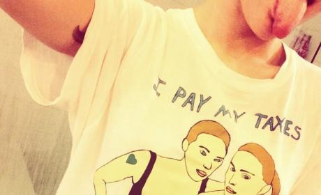 Miley Cyrus for Marriage Equality