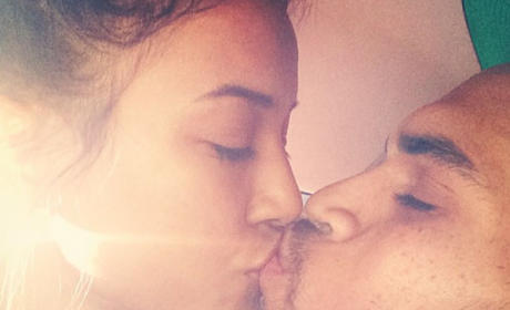 Karrueche Tran, Chris Brown Kiss Before Rehab Check-In: Always & Forever <3!